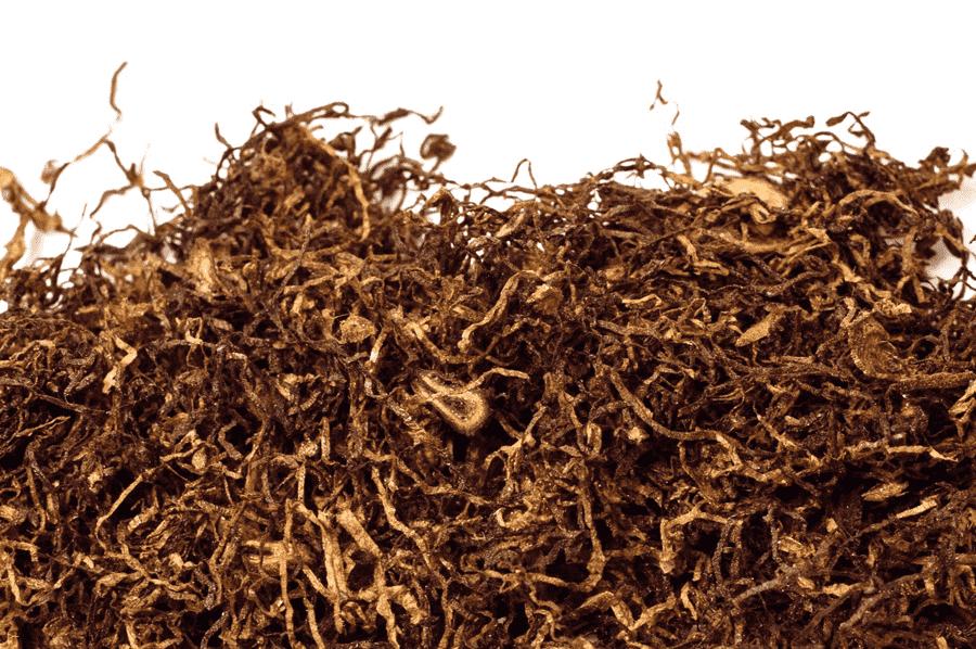 suseny a narezany vlasockovy tabak