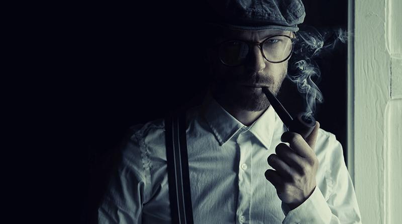 muž s fajkou
