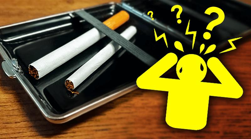 Cigareta ako dilema. šúľaná cigareta alebo továrenská cigareta?