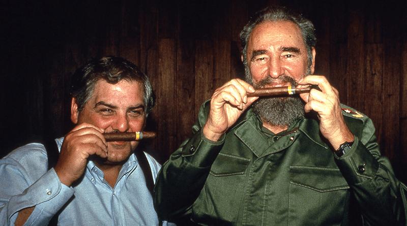 Fidel Castro s cigarou Cohiba
