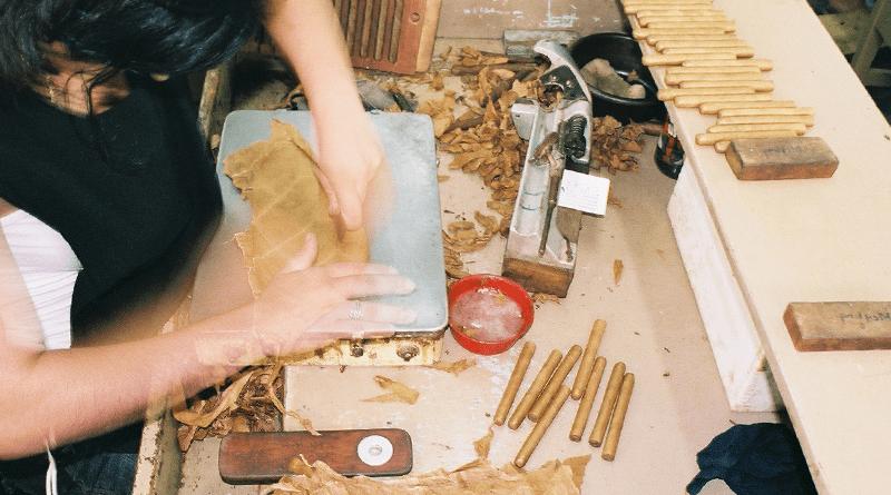 Ručne rolované kubánske cigary