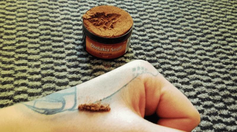 snuff šňupací tabak Dholakia