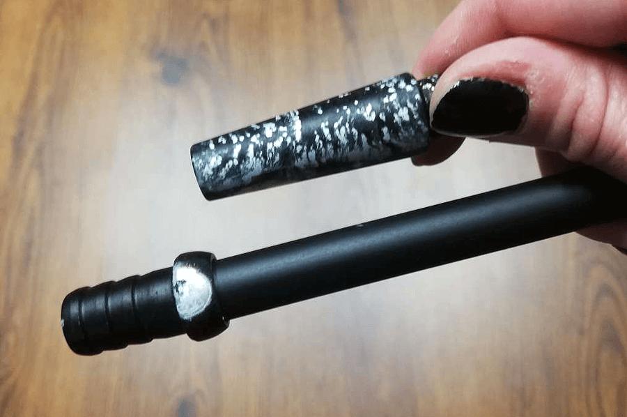 Zničená povrchová úprava kovu