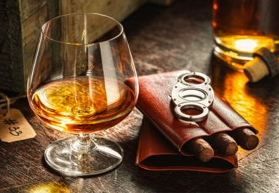 Cigary whisky a rum