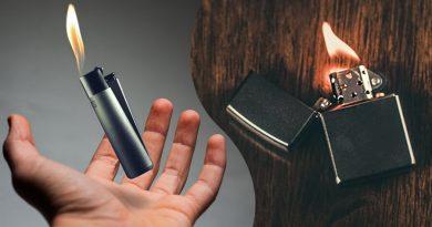 Zapaľovač clipper alebo zippo