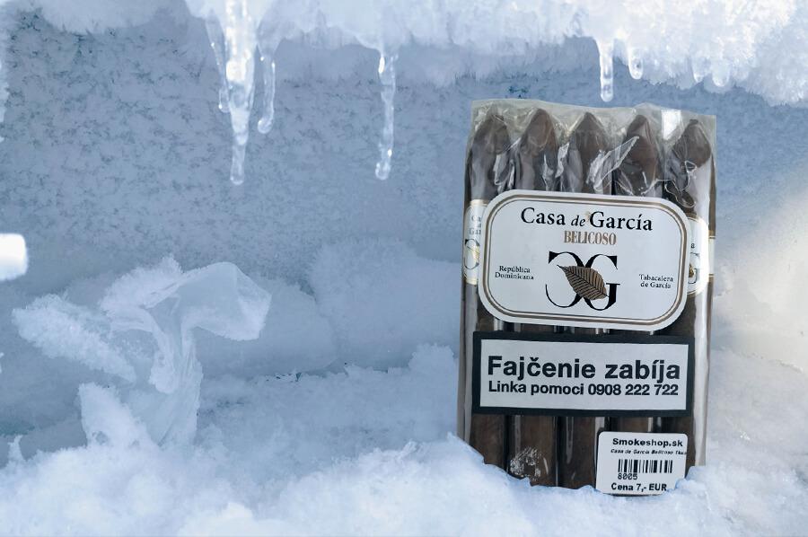 Ilustračný obrázok: mrazenie cigár v mrazáku